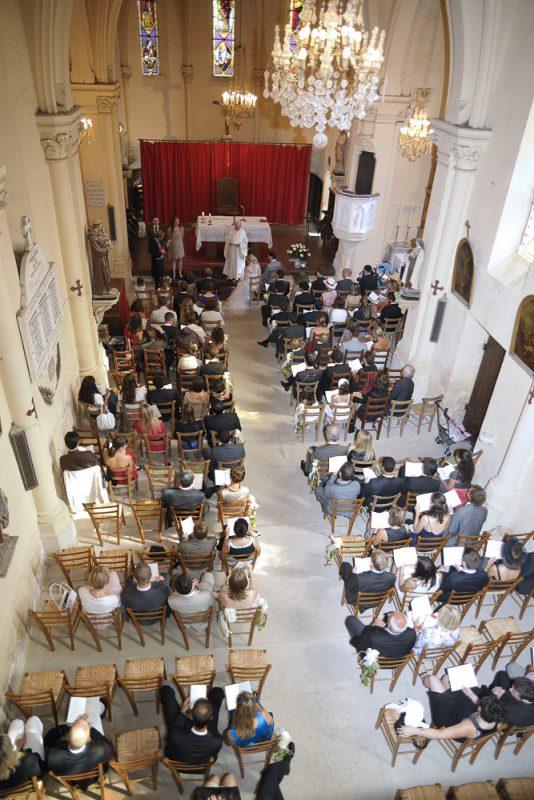 photo de mariage église bègles