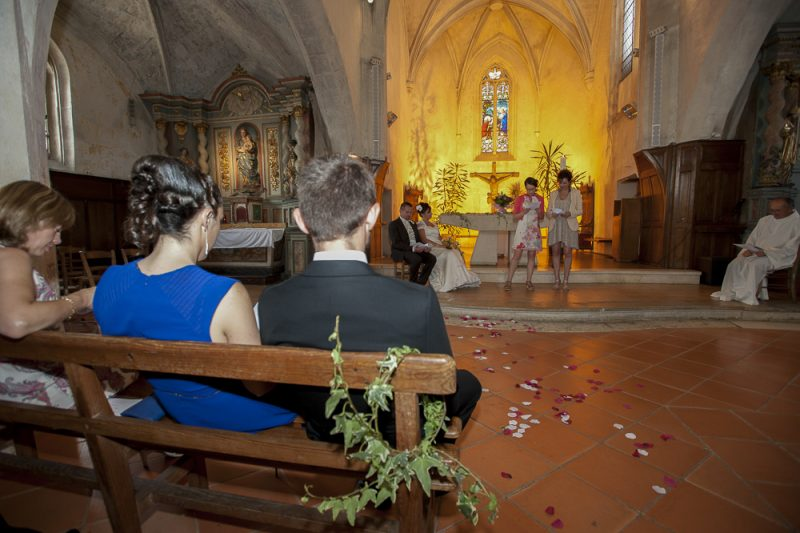 photo de mariage cérémonie religieuse