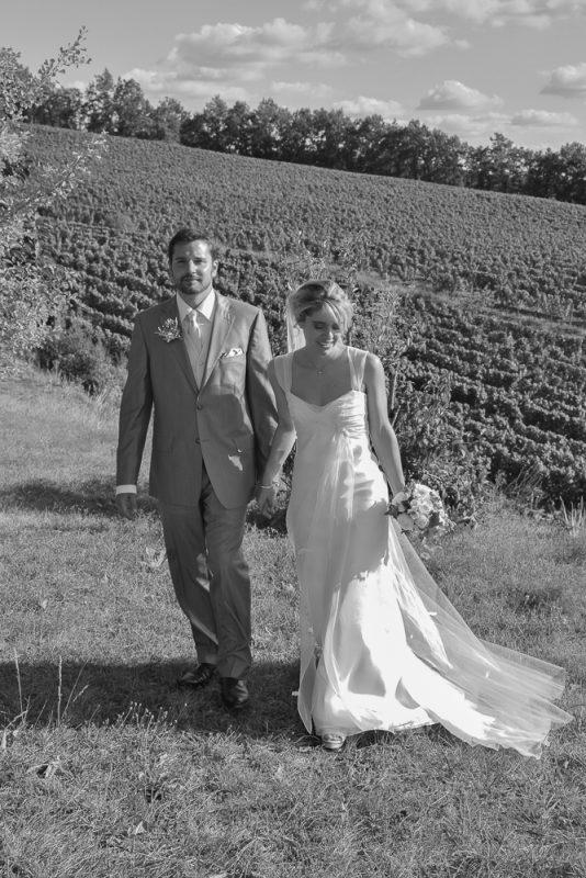 photos de mariage à la campagne