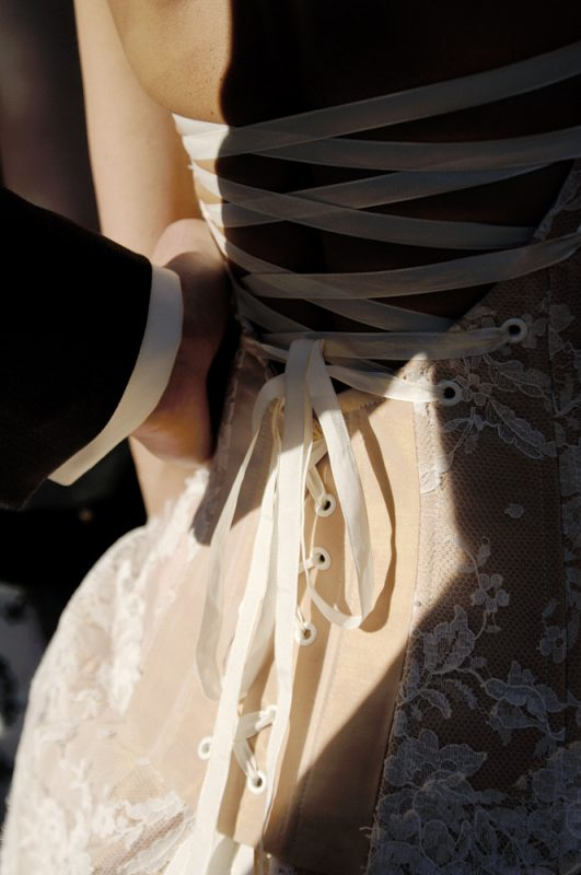 reportage mariage robe mariée