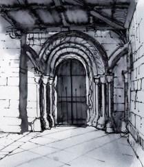 Door in Cloisters