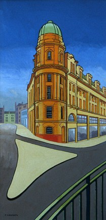 Edinburgh street corner