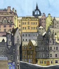 Cockburn St, Edinburgh