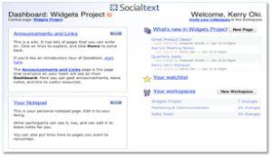 SocialText_Dashboard
