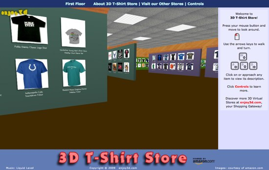 3DT-ShirtStore
