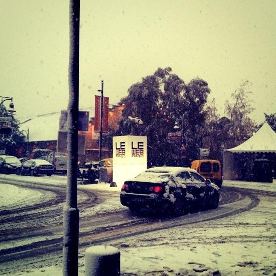 LeWeb10_snow