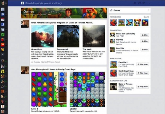 Facebook-Feed-Games