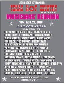 musicians reunion