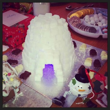 North Pole Sugar Igloo