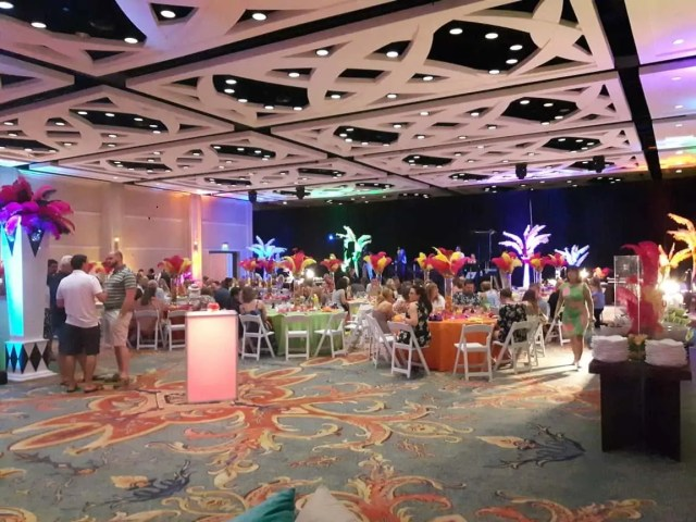 Carnival Theme Dining at Ritz Carlton Naples Hotel