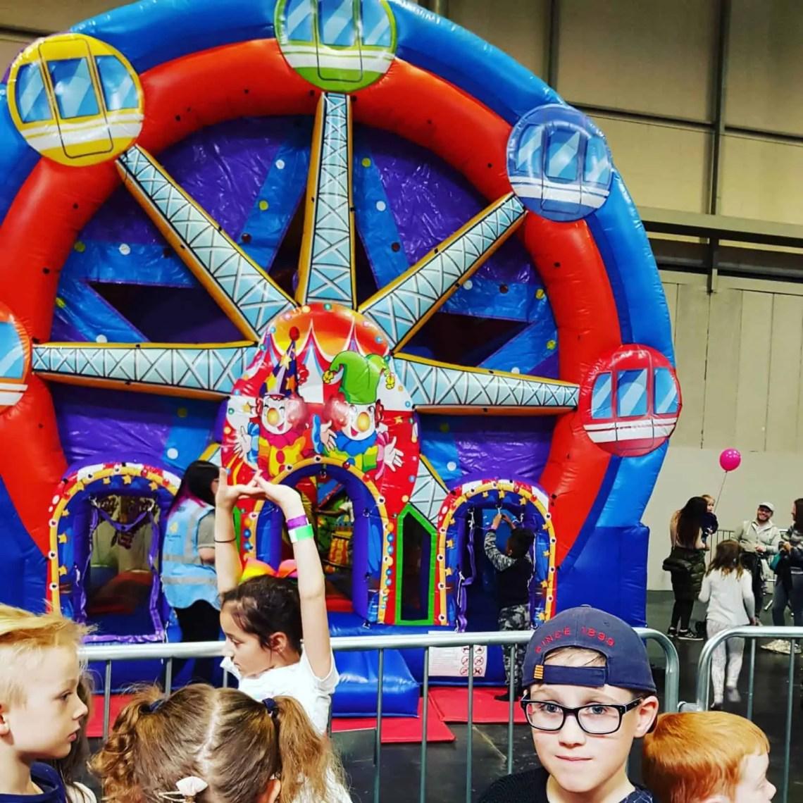 Ferris Wheel Kidstropolis NEC 2018