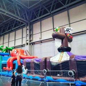 Pirate Ship Bouncy Castle Kidstropolis NEC 2018