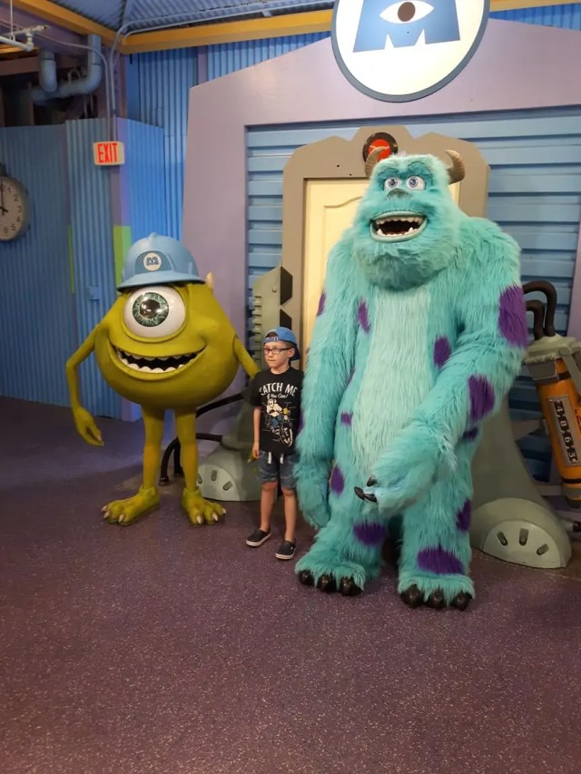 Monsters Inc at Disney World Orlando