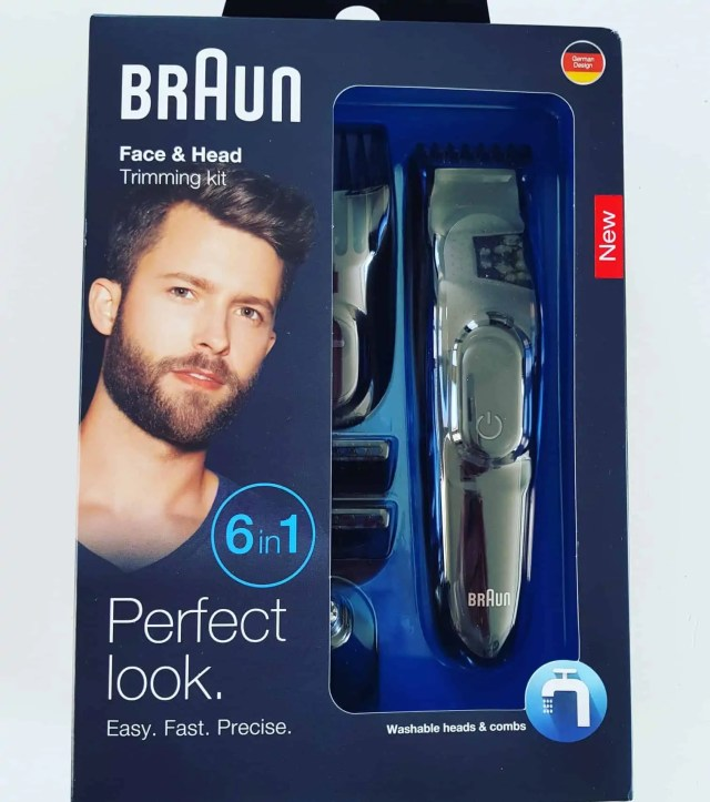 Braun Face and Haed Trimming Kit featured in this Father's Day Gift Guide