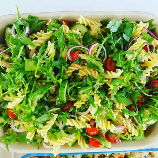 Pasta Salad - Zero Syns on Slimming World and great for a BBQ #bbq #slimmingworld