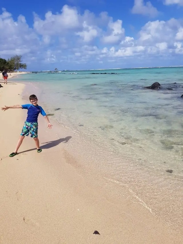 Tamassa Resort, Mauritius beach