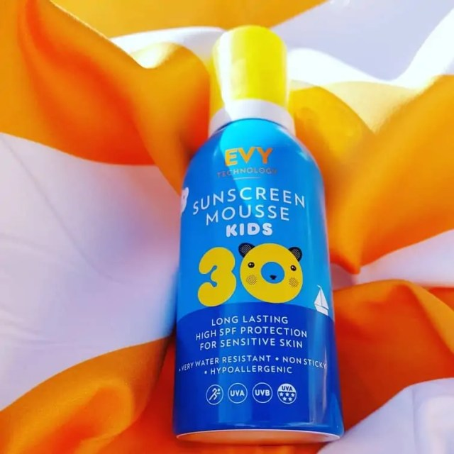 What to pack on a family holiday - Kids Suncream
