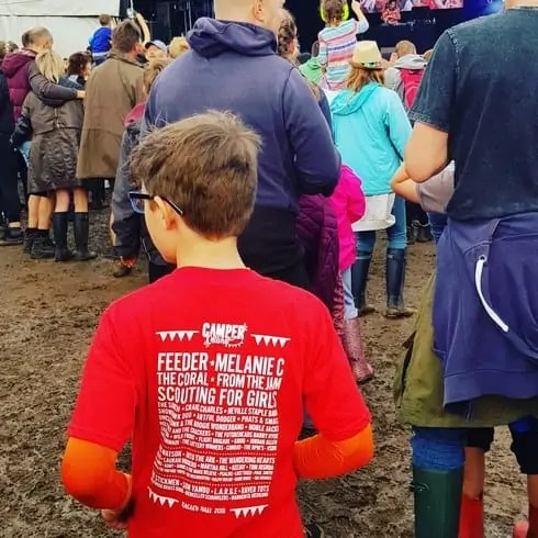 Camper Calling Music Festival - T Shirt