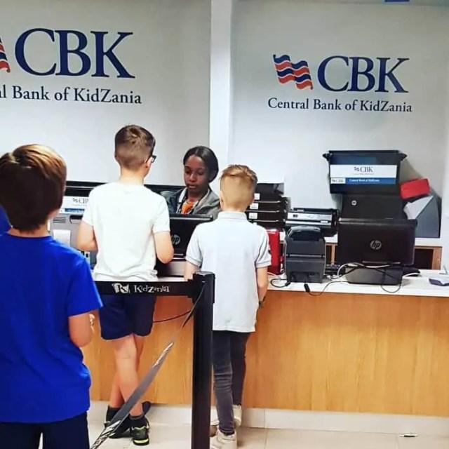Kidzania London Bank