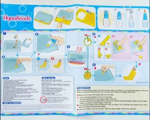 aquabeads instruction sheet
