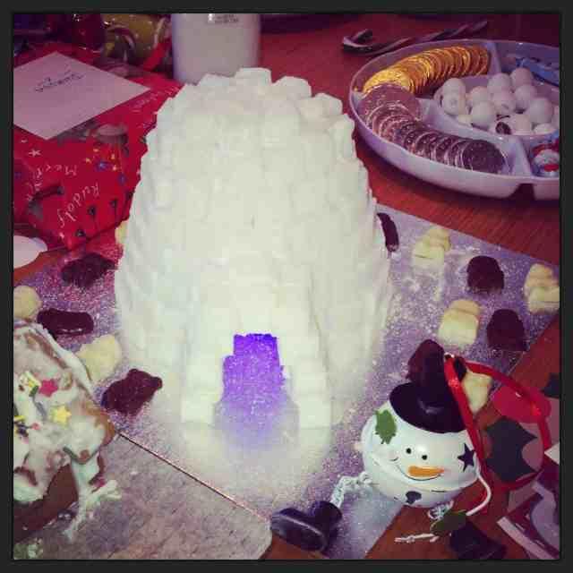 North Pole Breakfast Sugar Igloo