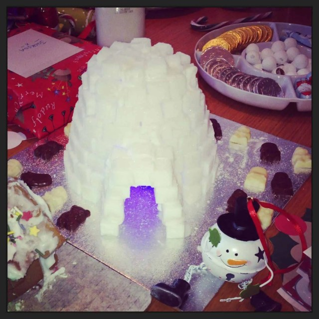 North Pole Breakfast Sugar Igloo