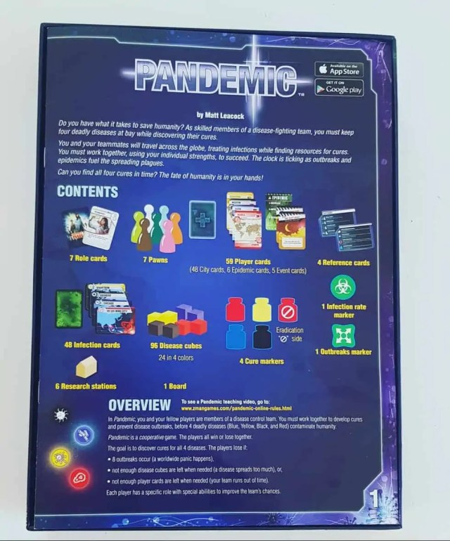 Pandemic Board Game Review 5