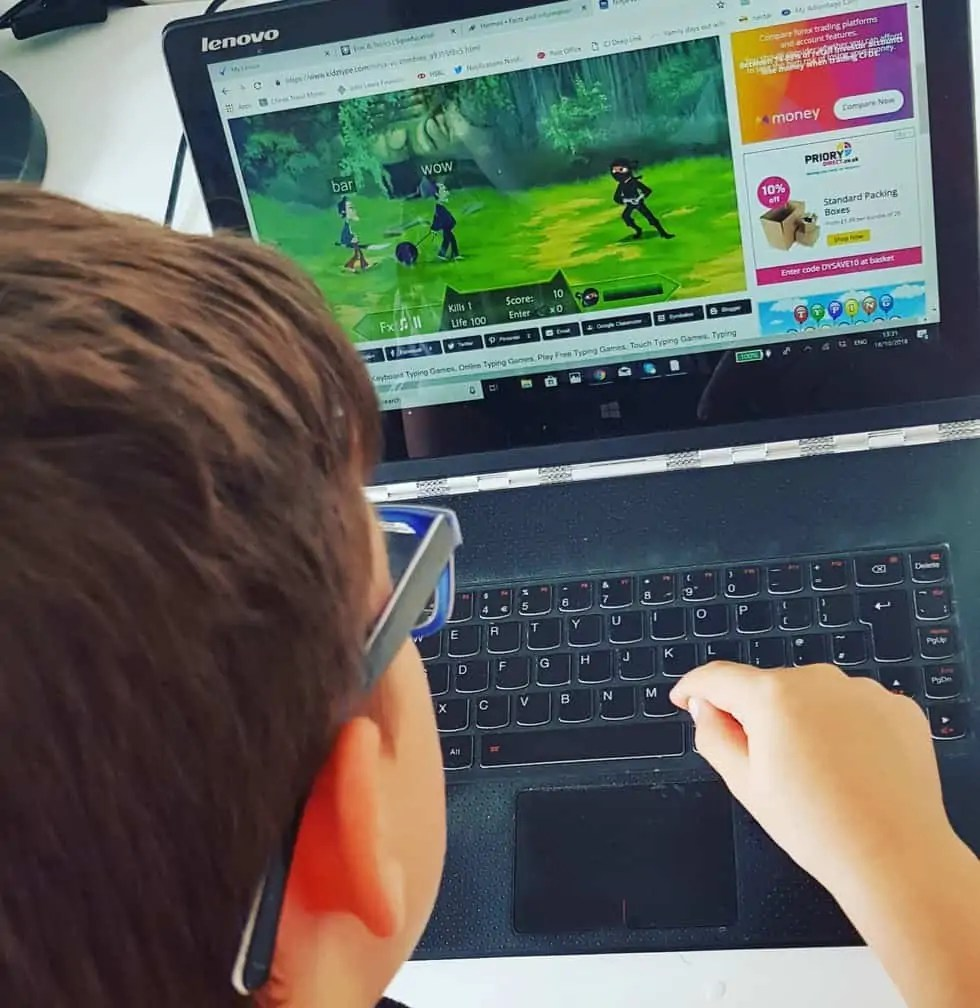 Free Typing Games for Kids - Kidztype