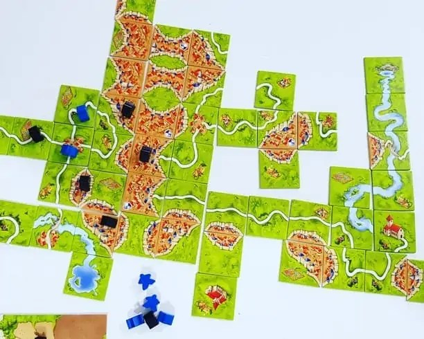 Carcassonne Game Review Game Board