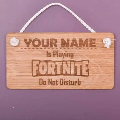 Christmas Gifts for 9 Year Old Boys - Fortnite Plaque
