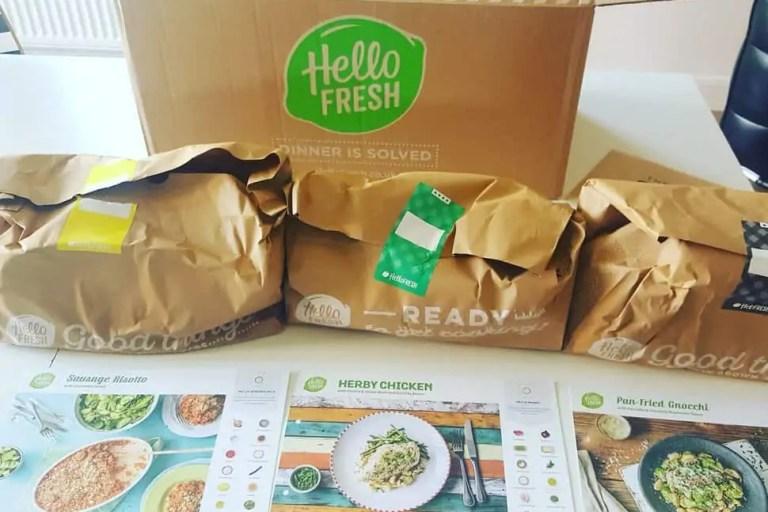 Hello Fresh Subscription Box