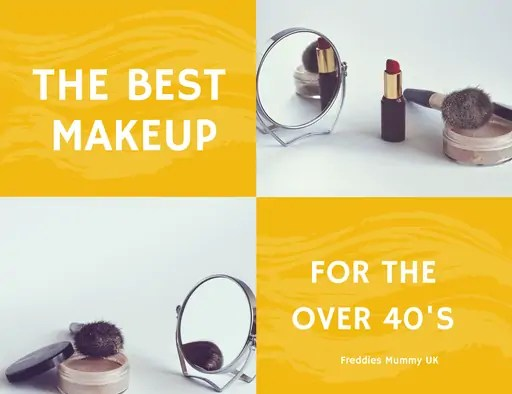 The best makeup to wear when you are over 40.