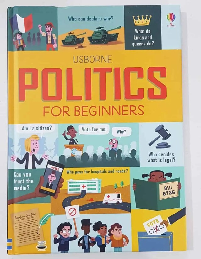 Politics for Beginners - Usborne Homeschool Books