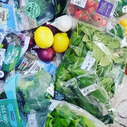 What to eat on the Whole 30 Diet - Green Vegetables