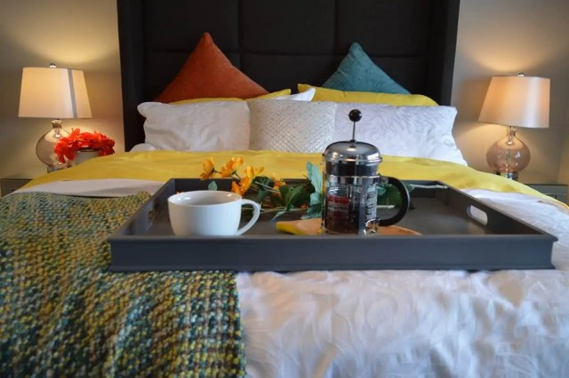 Fathers Day Gifts - Breakfast in bed