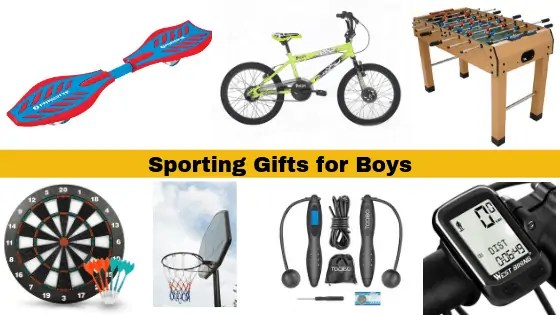 Sporting Gifts for Boys