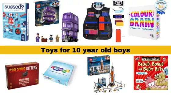 Over 30 Christmas Gifts For 10 Year Old Boys In 2019