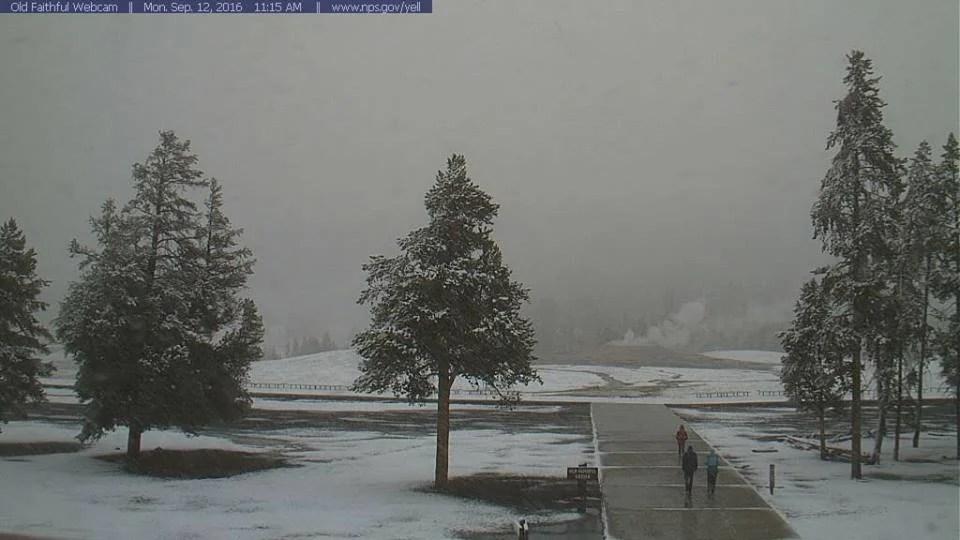 13 de 16 de setembro de Yellowstone