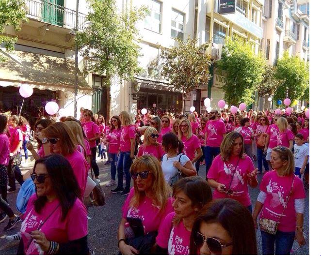 Άλμα Ζωής – Pink The City- 10.000 άτομα περπάτησαν για καλό σκοπό