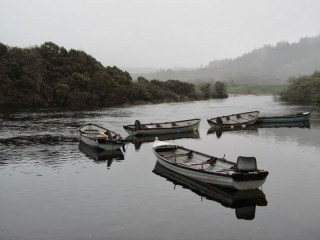 Barques entre Macroom et Gougane Barra