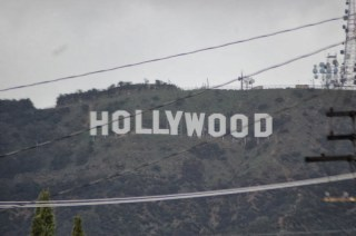 En chemin - Hollywood