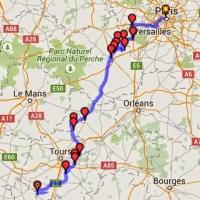 Moto - Les châteaux de la Loire