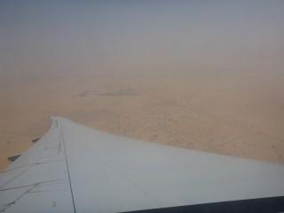 Vue aérienne sur Dubaï