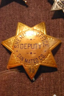 Etoile de Shérif du comté de San Mateo