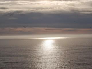 Quelques nuages donc pas de vrai coucher de soleil, ça sera pour une autre fois