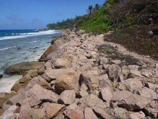 Fin de la route - Anse Caiman - Ile de la Digue