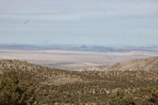 Une sorte de désert au loin