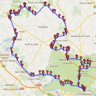 Plan du roadbook