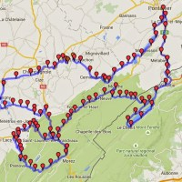 Moto - Les lacs du Jura