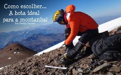 Como escolher a bota ideal para a montanha!